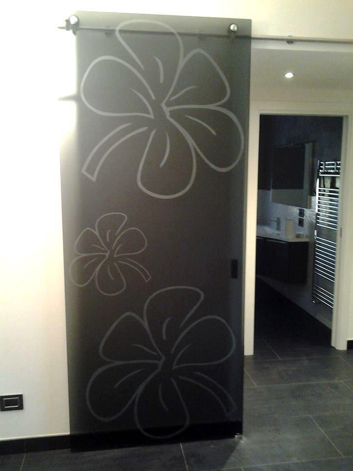 porta decorata
