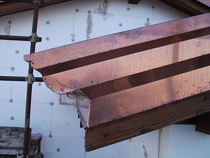 Preventivi scossaline e riparazione grondaie