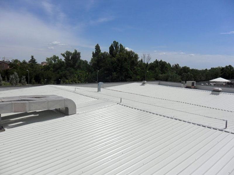 Interventi su capannoni sistemi sicurezza Reggio Emilia