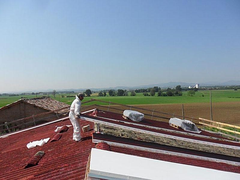 Offerte rimozione eternit tetti abitazioni