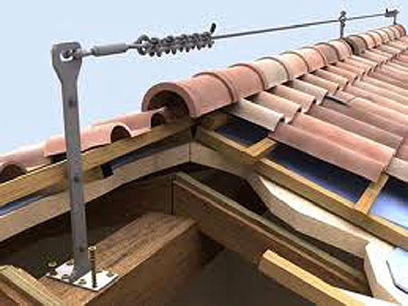 ristrutturazione coperture installazione sistemi di sicurezza Reggio Emilia