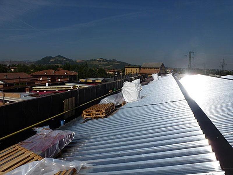 Preventivi costruzione tetti metallici