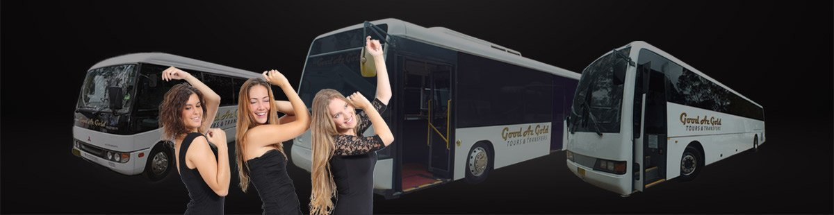 party bus hire and coach charter Sydney