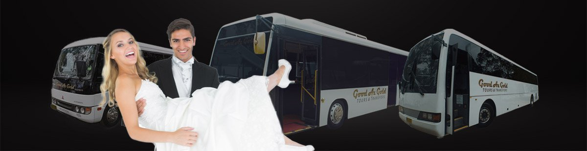 wedding bus hire and coach charter Sydney