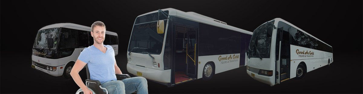 wheelchair accessible bus hire and coach charter Sydney