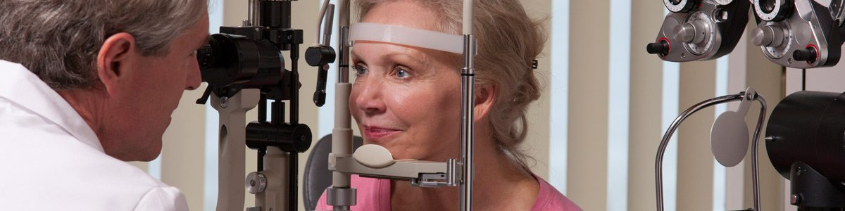 optom all vision care eye testing for old women