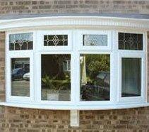 four window panes