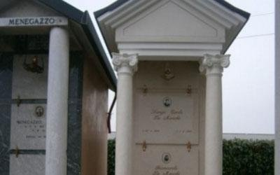 edicola funeraria marmo