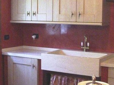 Piani e arredi per la cucina in marmo - Padova - Marmi ...