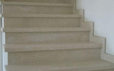 Scale in marmo Malaga