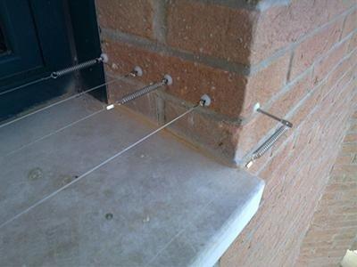 allontanamento volatili cavo bird-wire