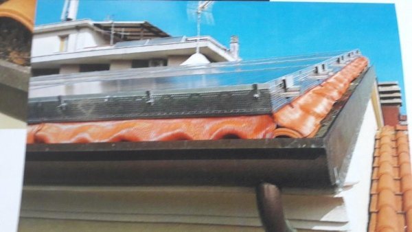 barriere di protezione pannelli fotovoltaici