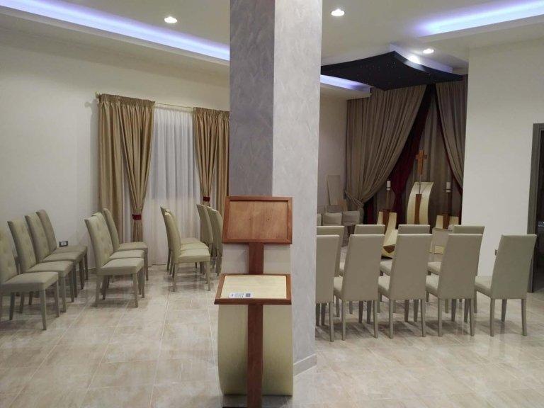 sala del commiato onoranze funebri crotne