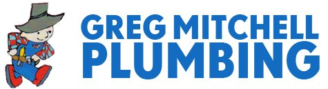 greg mitchell plumbing branding logo
