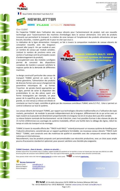 Multi Track Rails