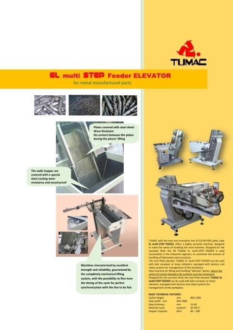 EL Step Feeder Metal
