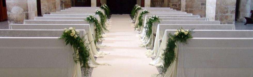 fiori banchi chiesa