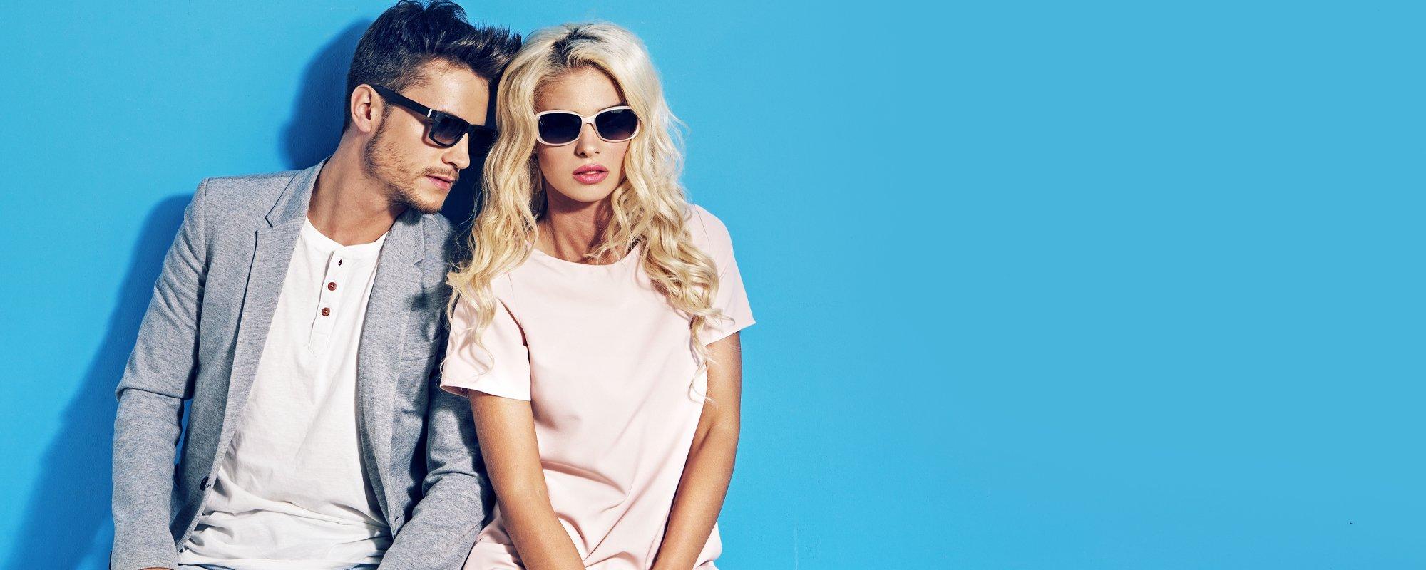 occhiali da sole uomo e donna