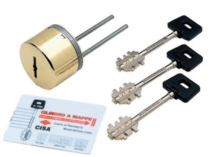Chiavi e serrature con protezione duplicazione