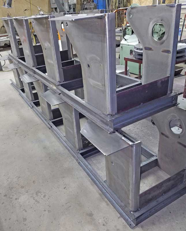 Model 1504 Welding Positioner Frames All-Fab Corp.