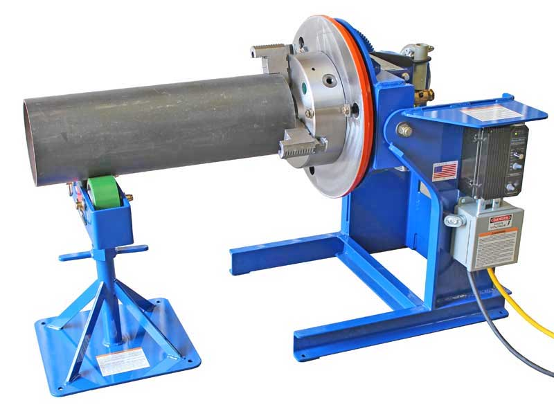 Welding Positioners from All-Fab Corp.