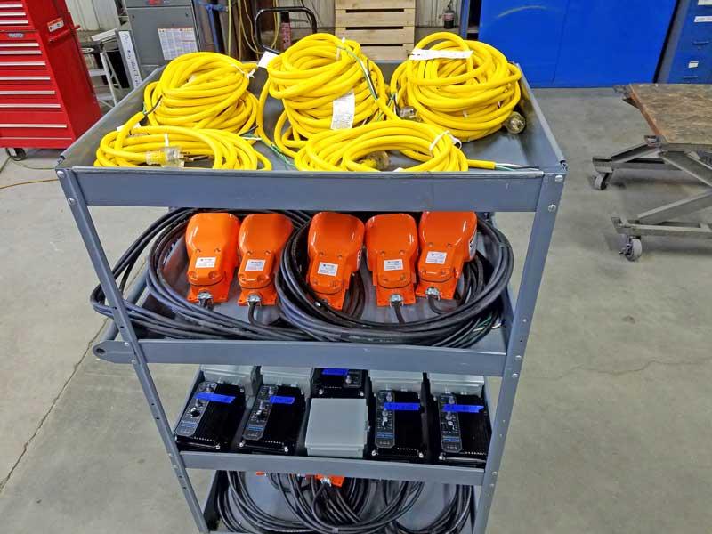 Model PB1005 controls prior to installation