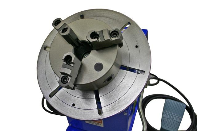 MT6 chuck mounted on the PS-1F bench-top welding positioner. $1,595.00