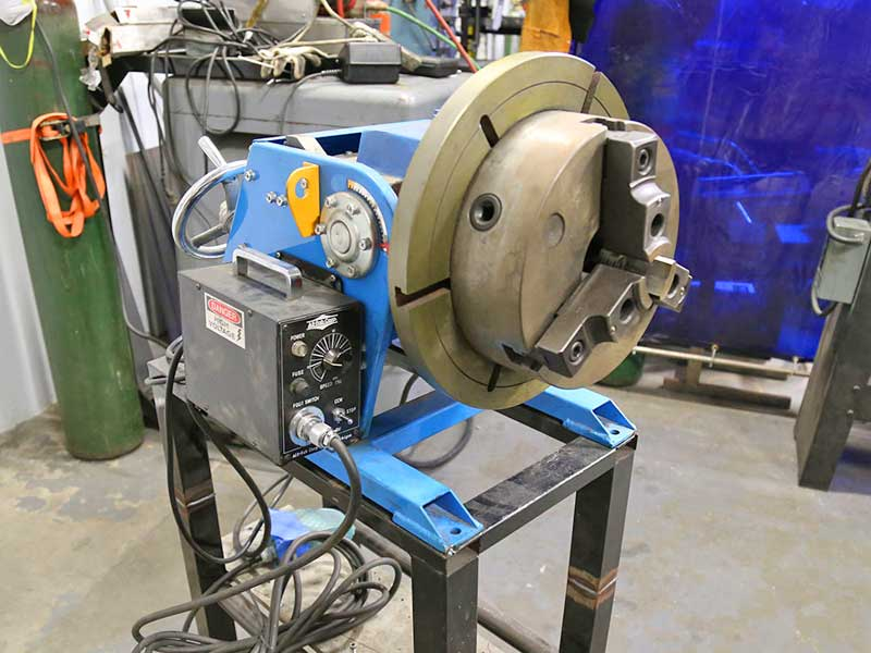 PS-2F Welding Positioner in Production