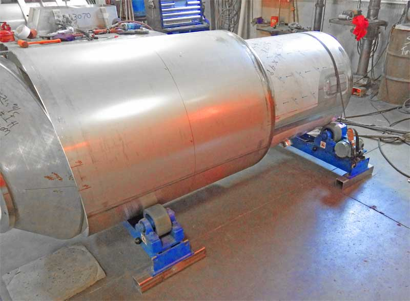 RD-3-INW Tank Turning Rolls in Production