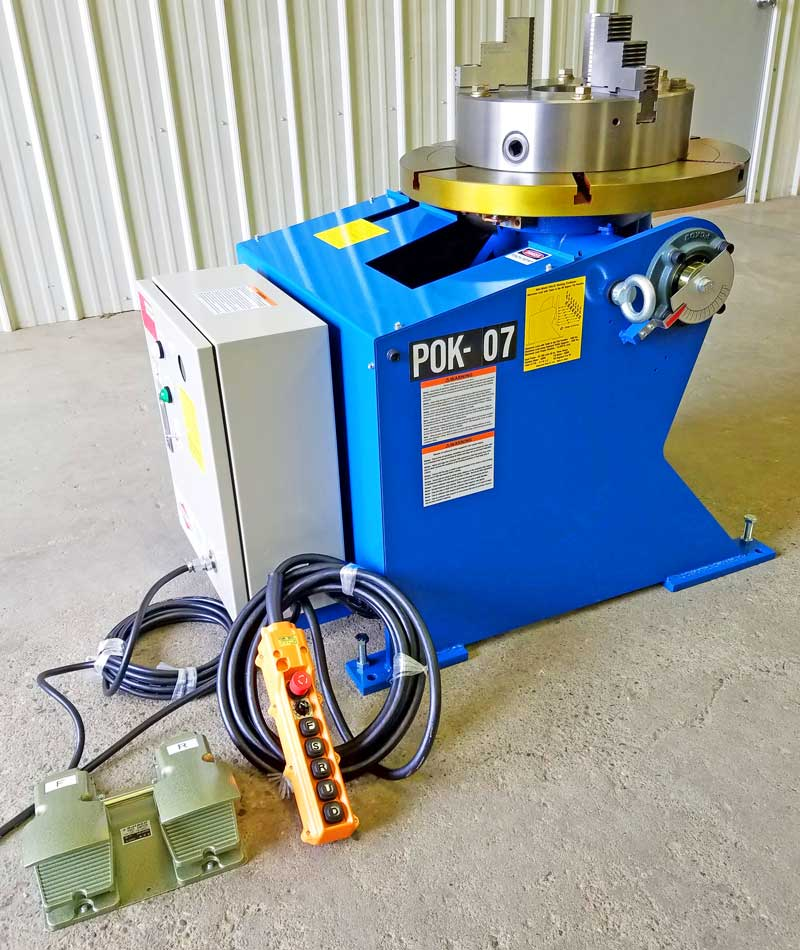 POK-07 Welding Positioner