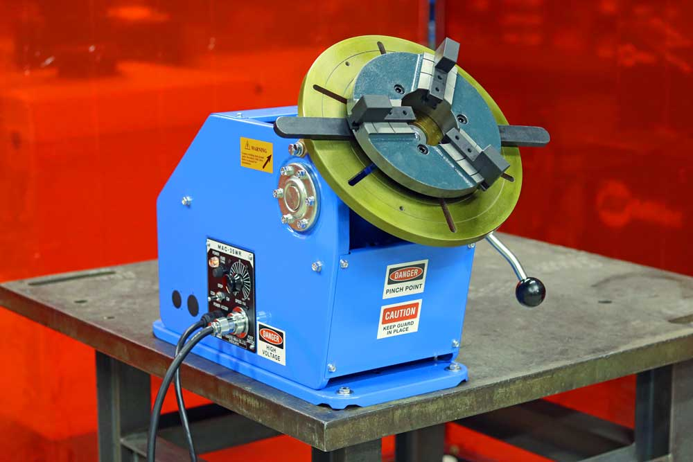 Welding Positioner | Small Benchtop | PS-1F | All-Fab Corp on