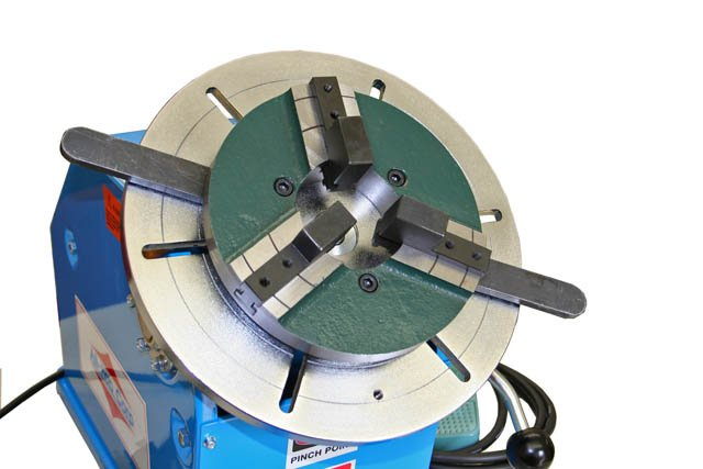 PS-1F Welding Positioner with WP-200 chuck