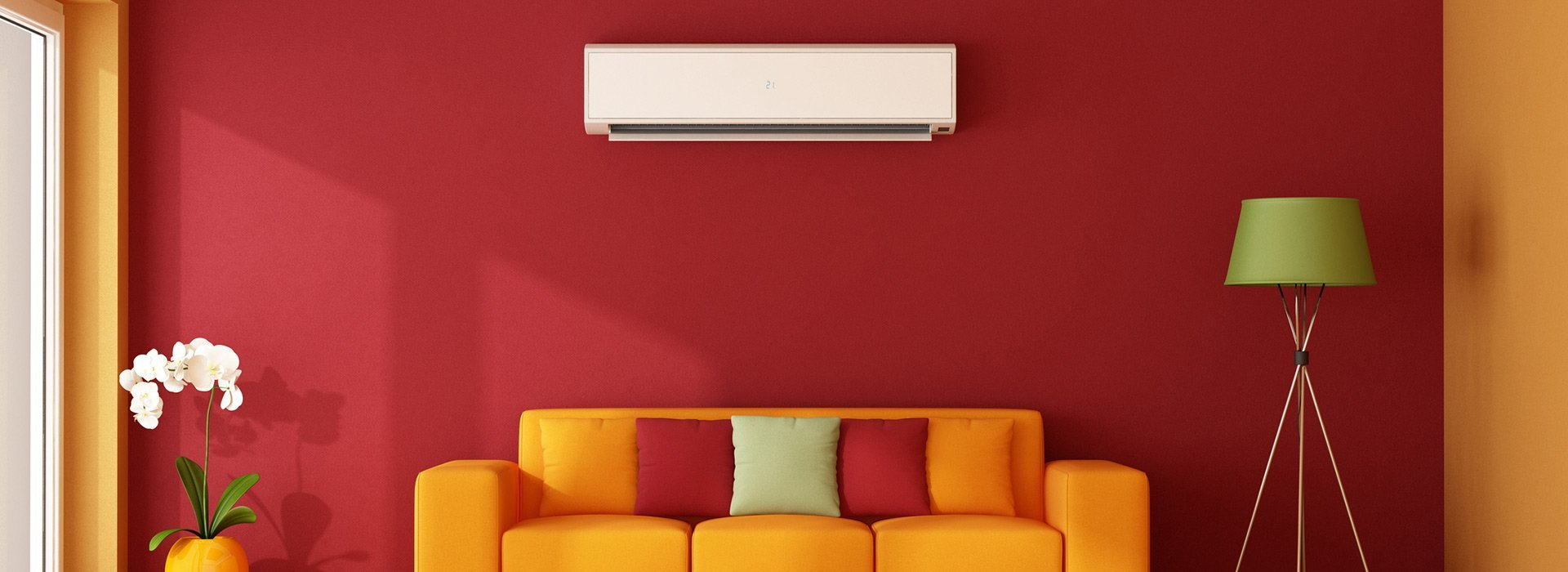 split n stawell heating and colling air condition in living room