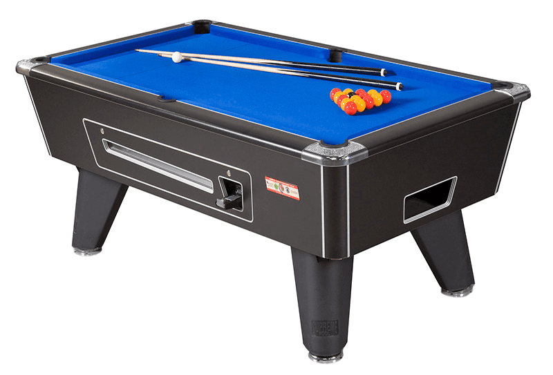 small-sized pool table