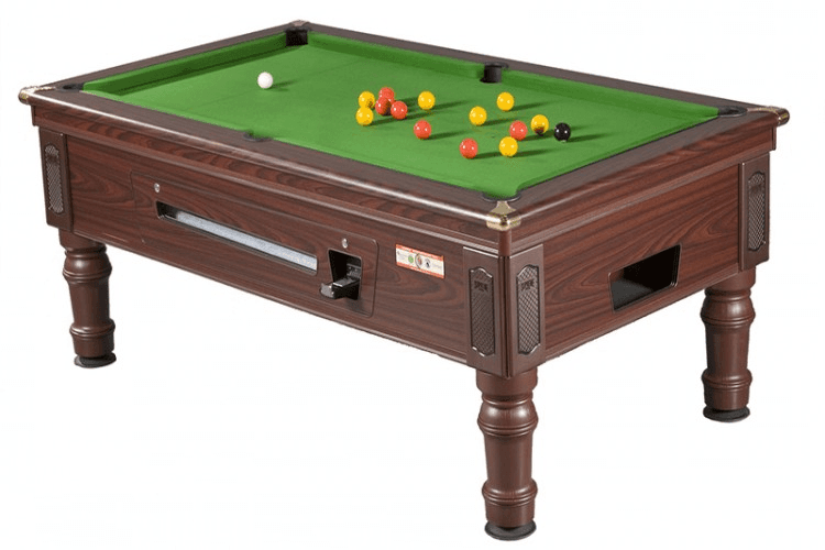 large pool table