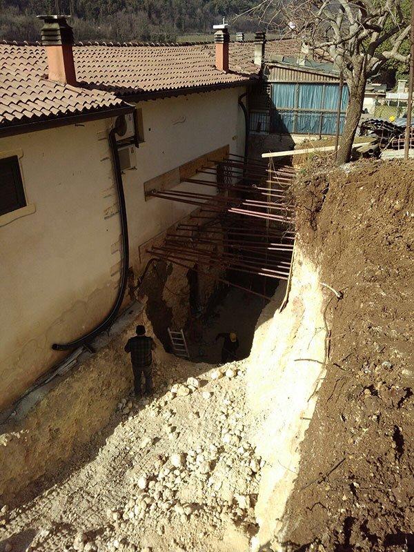 In ogni demolizione si studia il materiale che si può riacquistare