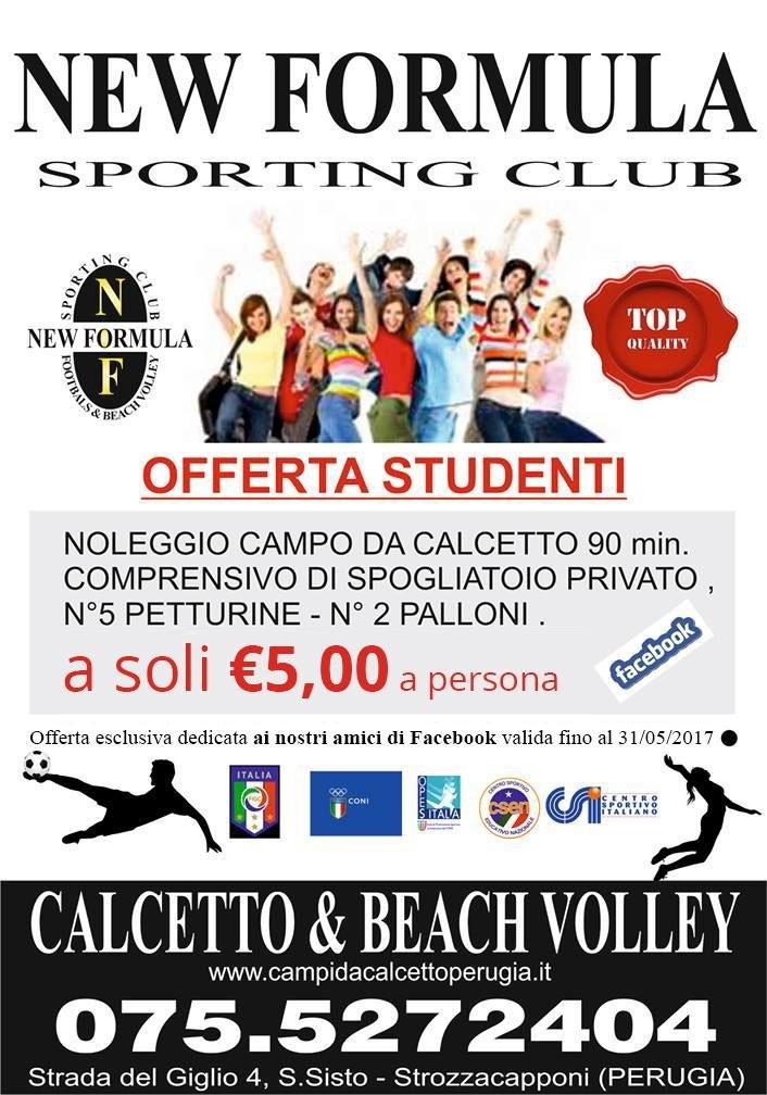 Offerta Calcetto e Beach Volley