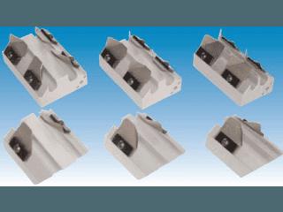Porta stecche  per macchina manuale TP/IC-F forma reofori integrati