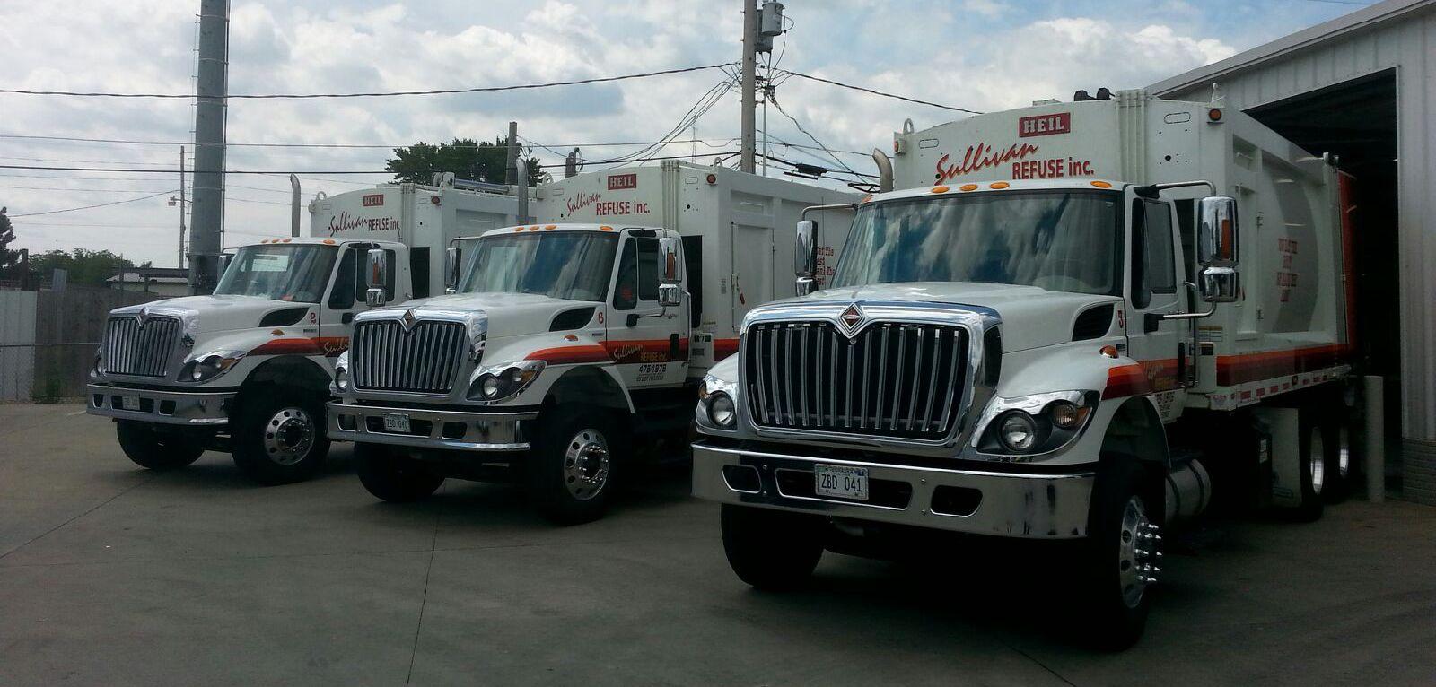 Residential Trash Removal truck in Lincoln NE