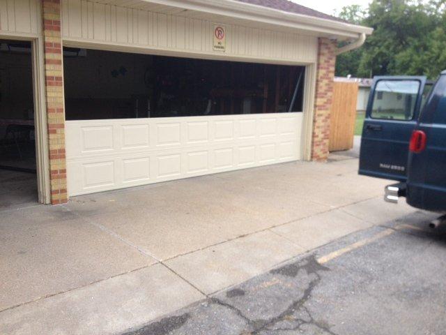 Replacing garagedoor