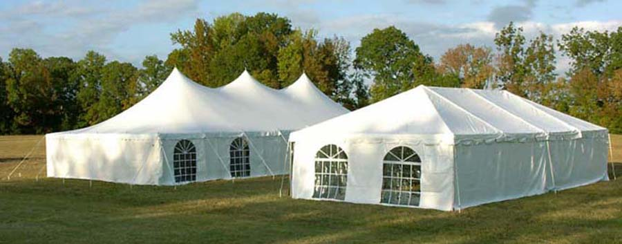 A venue furnished by a party equipment rental company in Kannapolis, NC