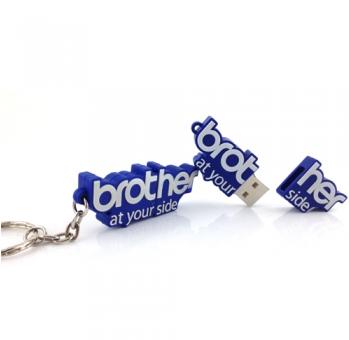 BROTHER USB DISK דיסק און קי לוגו בראדר