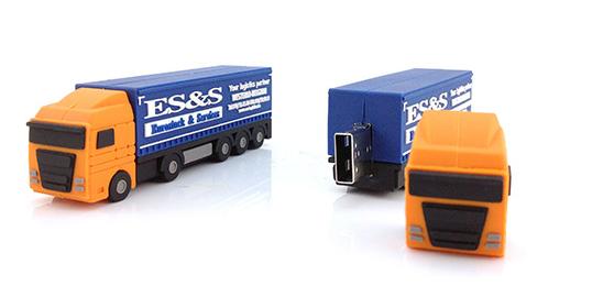 דיסק יצוק במראה משאית