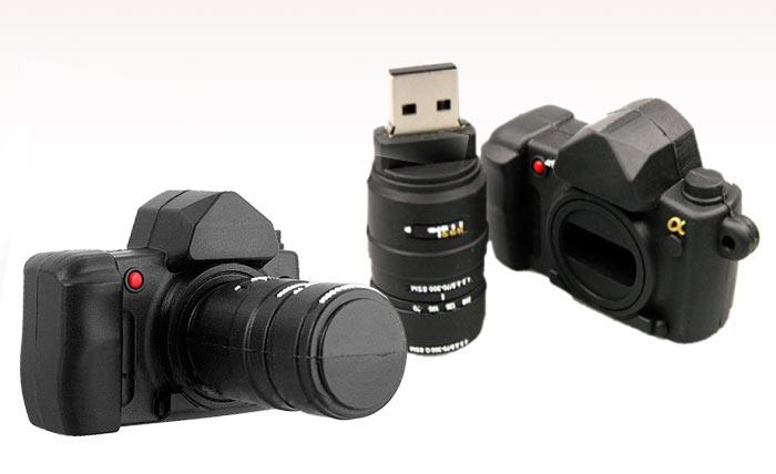 דיסק און קי יצוק במראה מצלמה  camera shape usb disk