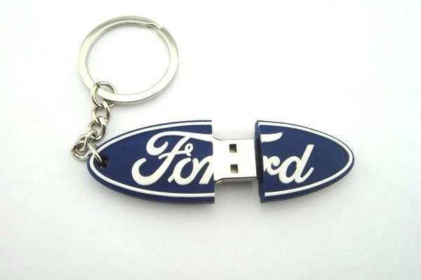 FORD DISK ON KEY דיסק און קי במראה לוגו פורד