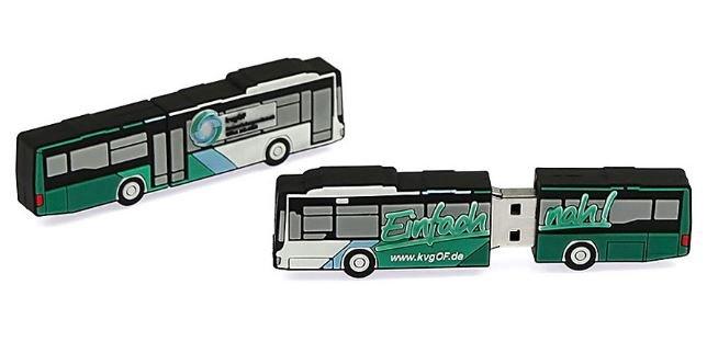 דיסק און קי אוטובוס BUS SHAPE USB DISK