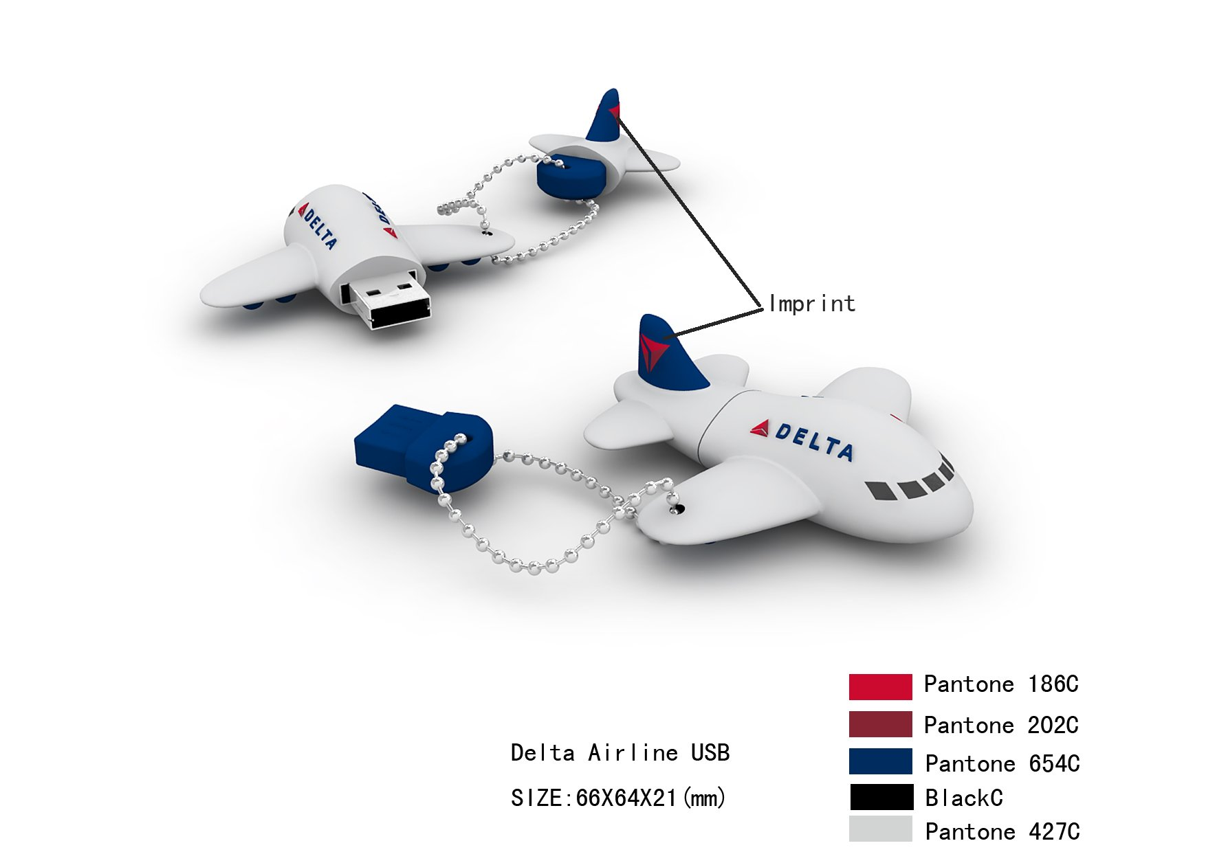 דיסק און קי במראה מטוס  PLANE USB DISK