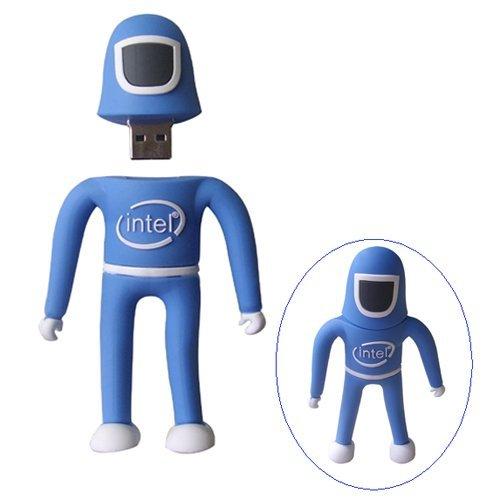 INTEL MAN USB DISK דיסק און קי דמות אינטל