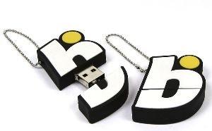 דיסק און קי במראה לוגו LOGO SHAPE USB DISK