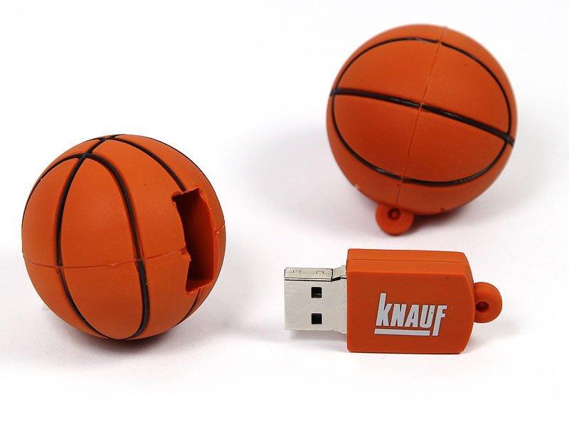 BASKET BALL SHAPE USB דיסק און קי כדור